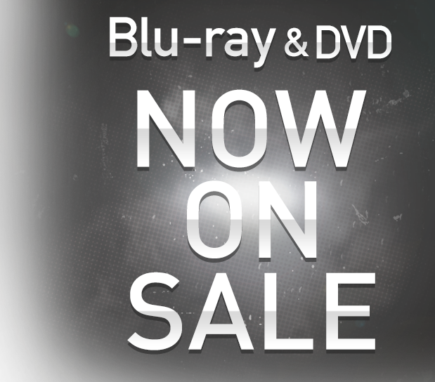Blu-ray and DVD now on sale